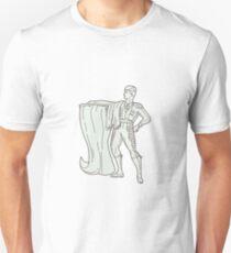 Camiseta ajustada Spanish Matador Cape Standing Mono Line