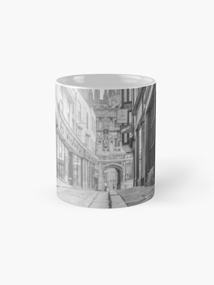 Alternative Ansicht von Merkzettel 3 (schwarz und weiß) Tasse