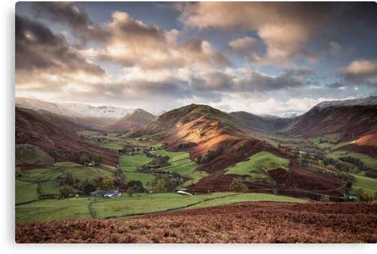 Light on Beda Fell by Phil Buckle