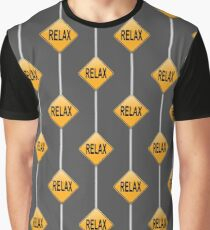 Relax concept. Graphic T-Shirt