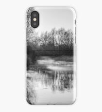 River Stour (black and white) iPhone Case/Skin