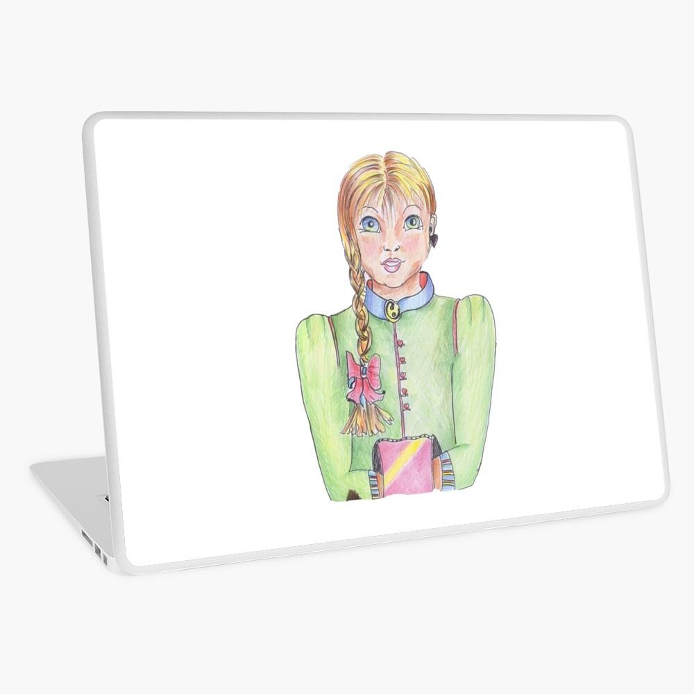 Emma Girl Laptop Skin