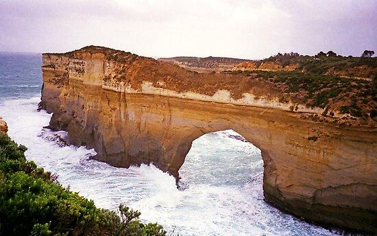 Great Ocean Road, Victoria - Arch in Headland by TonyCrehan