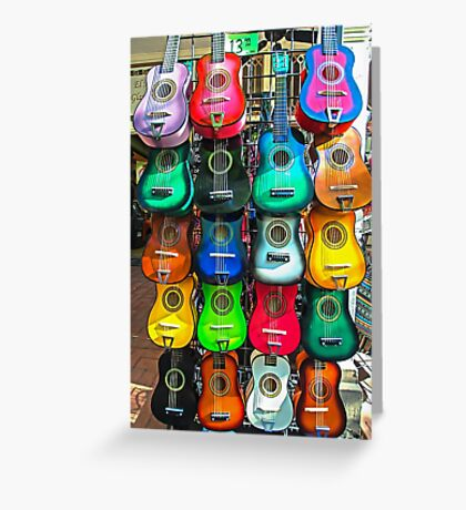 Take Your Pick  - for guitar pickin' Greeting Card
