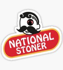 Natty Boh - National Stoner - Baltimore Sticker