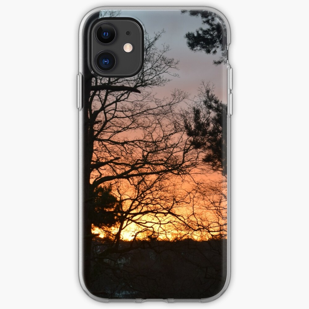 Winter Sunrise in Southampton iPhone Case & Cover