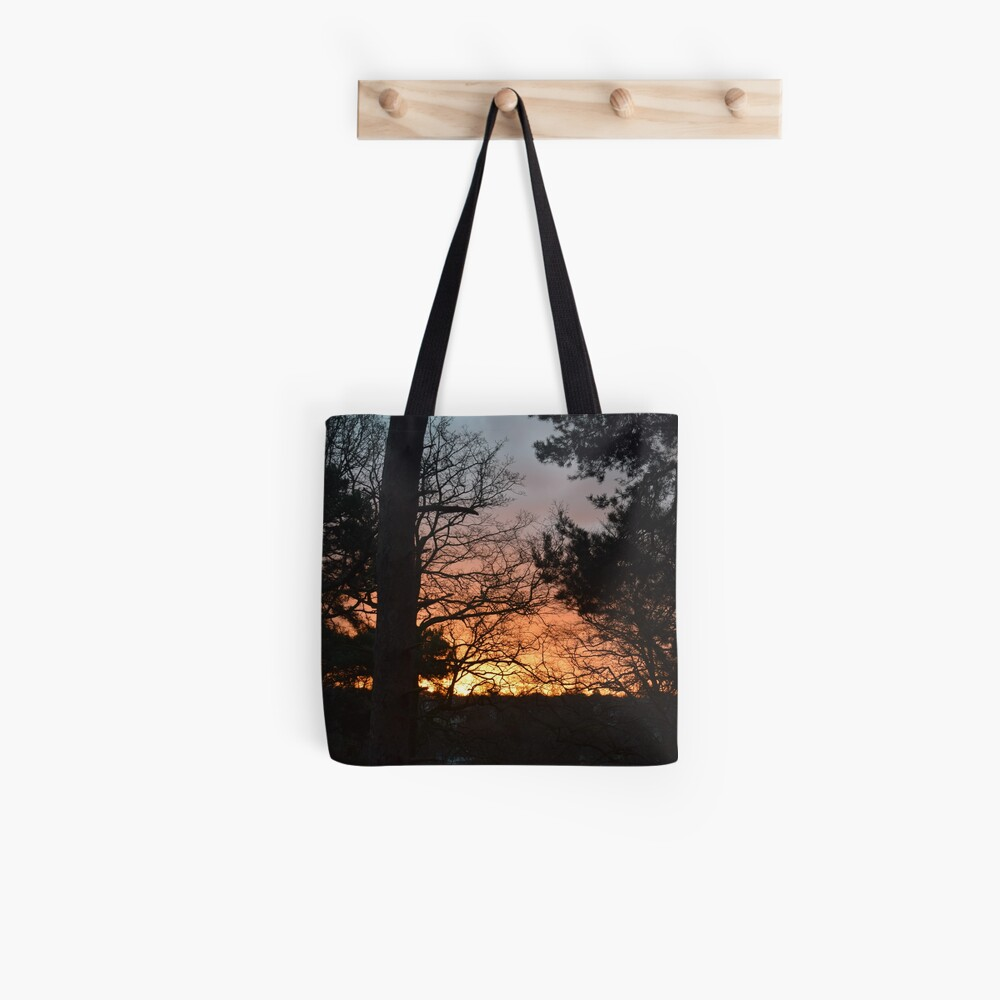 Winter Sunrise in Southampton Tote Bag