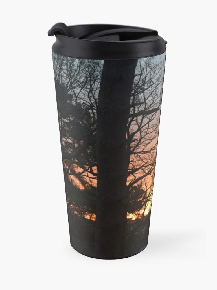 Alternate view of Winter Sunrise in Southampton Travel Mug