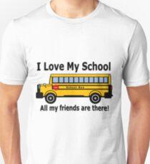 I Love My School- kindergarten shirt T-Shirt