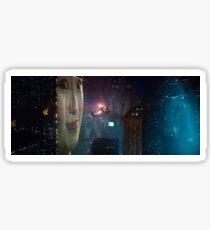 BLADE RUNNER - CLASSIC SKYLINE SCENE Sticker