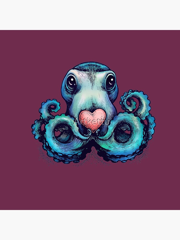 Octopus needs love 3 by Artkettu