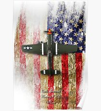 North American P-51 Mustang 'Old Crow' Poster