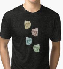 Soft Shades of Kokopelli Tri-blend T-Shirt