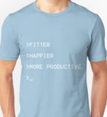 ddb38270 Fitter, Happier and More Productive Slim Fit T-Shirt