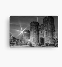 Westgate Towers lens Flare  Canvas Print