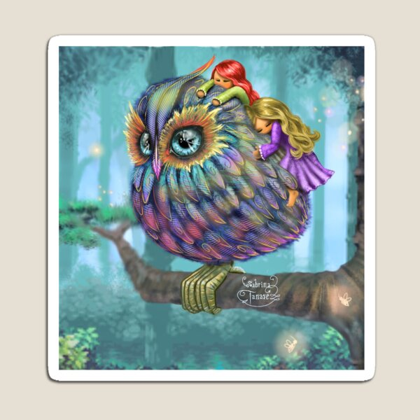 Sweetness of the Owl Magnet