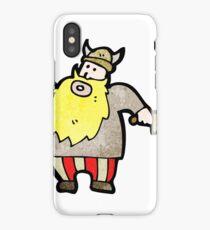 cartoon viking iPhone Case