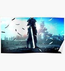 Crisis Core: Final Fantasy VII - Zack fair (Buster Sword) Poster