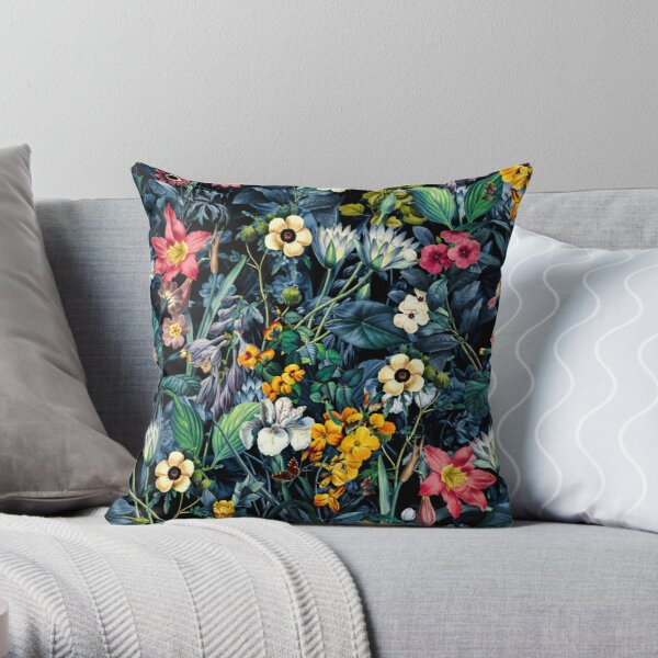 Exotic Garden Throw Pillow