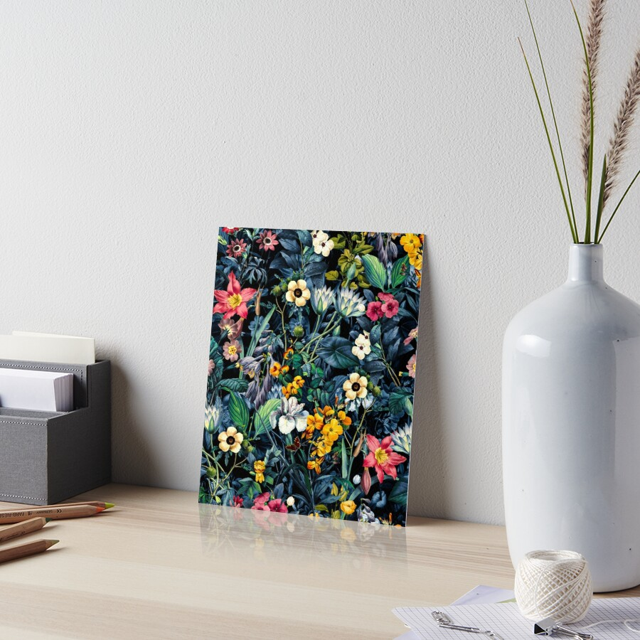 Exotic Garden Art Board Print