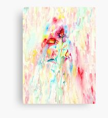 Floral Abstract II Canvas Print