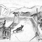 «El gato negro · Alpujarras · Sierra Nevada · Granada · Spain» de reflejArte