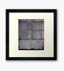 Bleeding Wall Framed Print