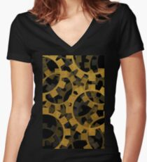Clockworks Women's Fitted V-Neck T-Shirt
