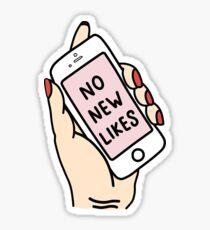 no new likes  Sticker