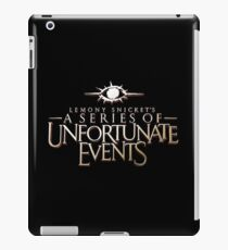 A Series of Unfortunate Events Tv Show iPad Case/Skin