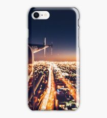miami night view from helicopter iPhone Case/Skin
