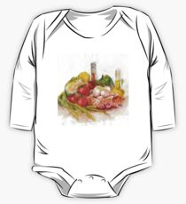 Still life with vegetables One Piece - Long Sleeve