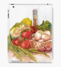 Still life with vegetables iPad Case/Skin