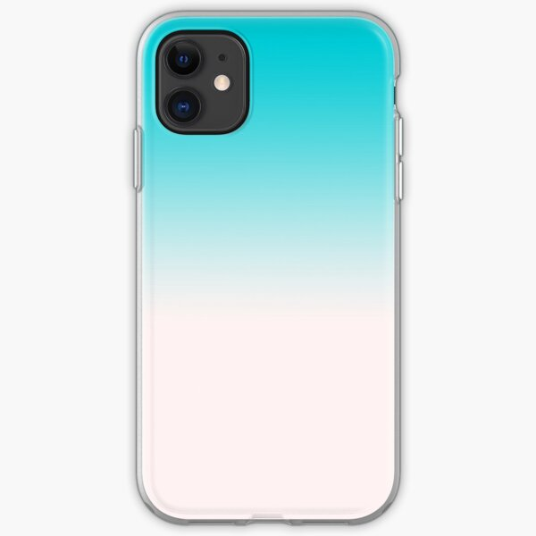 Ombre in Blue iPhone Soft Case