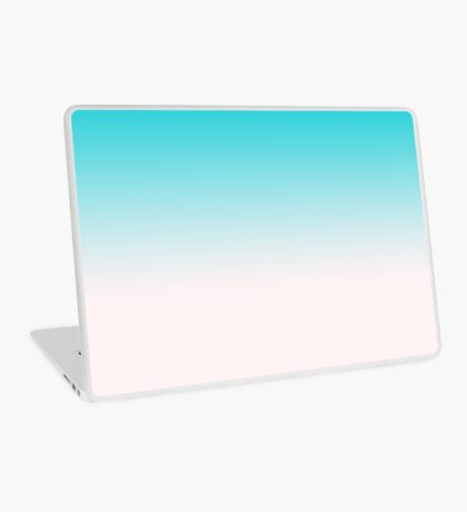 Ombre in Blue Laptop Skin