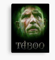 Taboo tv series Canvas Print