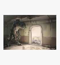 Deathclaw wandering Photographic Print