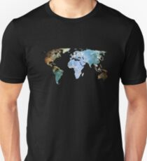 Space Continents Unisex T-Shirt