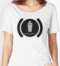 Bartender Mixology Lounge Logo Vector Women's Relaxed Fit T-Shirt