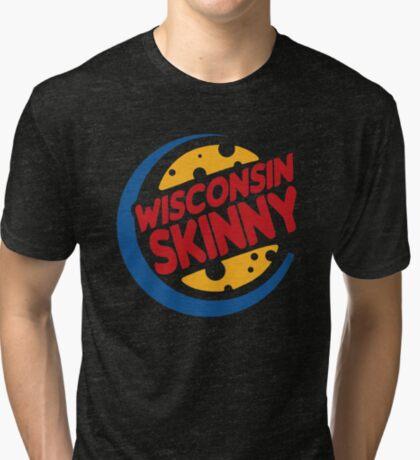 Skinny burgers Tri-blend T-Shirt