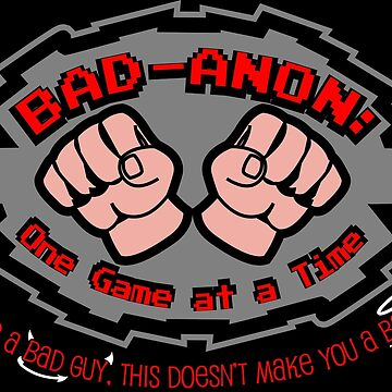 Wreck it ralph Bad Anon by dontpanictees