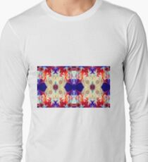 Facing The Unknown Abstract Healing Artwork  Long Sleeve T-Shirt