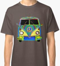 Peace Bus - Psychedelic Classic T-Shirt