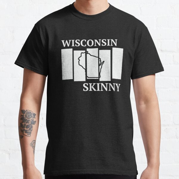 Wisconsin Skinny back in the day Classic T-Shirt