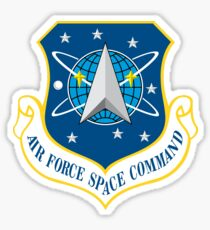Air Force Space Command (AFSPC) Crest Sticker