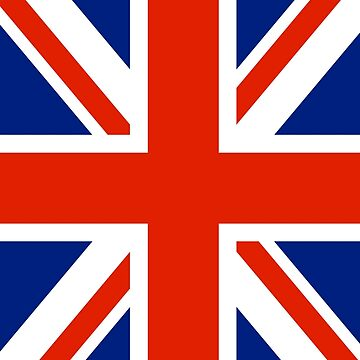 British UK Union Jack Flag by astropop