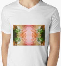 Welcoming New Life Abstract Healing Artwork  Men's V-Neck T-Shirt