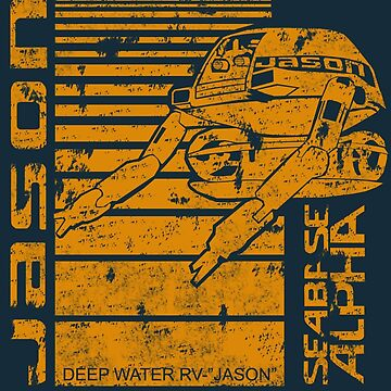 Deep Sea Jason by EpcotServo