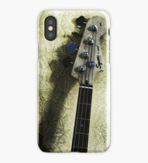 4 strings & a shadow iPhone Case/Skin