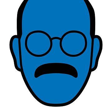 Detención arrestada Tobias Blue Man de astropop